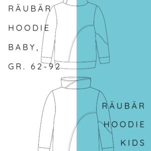 KOMBI Ebook Räubärhoodie+ Räubärhoodie Baby