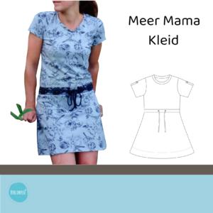 Meer Mama Kleid Gr. 36-46 + Plottdateien-SET