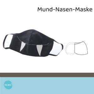 Mund-Nasen-Maske Nr. 2, rund, ergonomisch, Kinder und Erwachsene