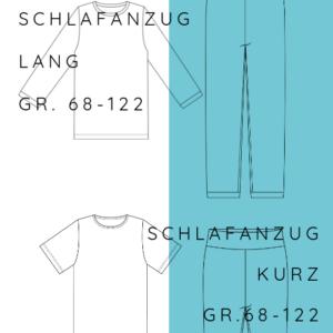 KOMBI Schlafanzug Good night Bärlin+ GNB Summer Edition