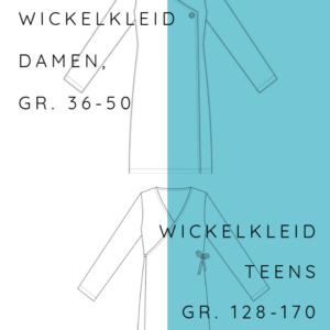 KOMBI Ebook Wickelkleid Teens 128-170+ Damen 36-50